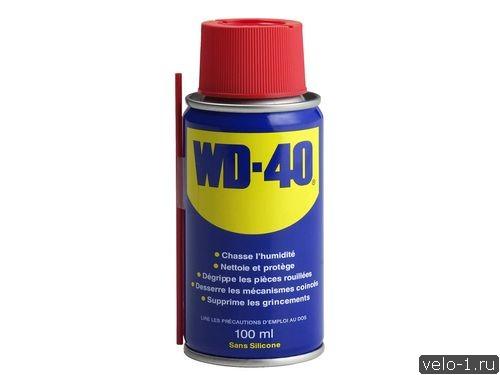 Можно ли смазывать велосипедную цепь WD-40?