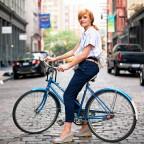 велообоя, девушка