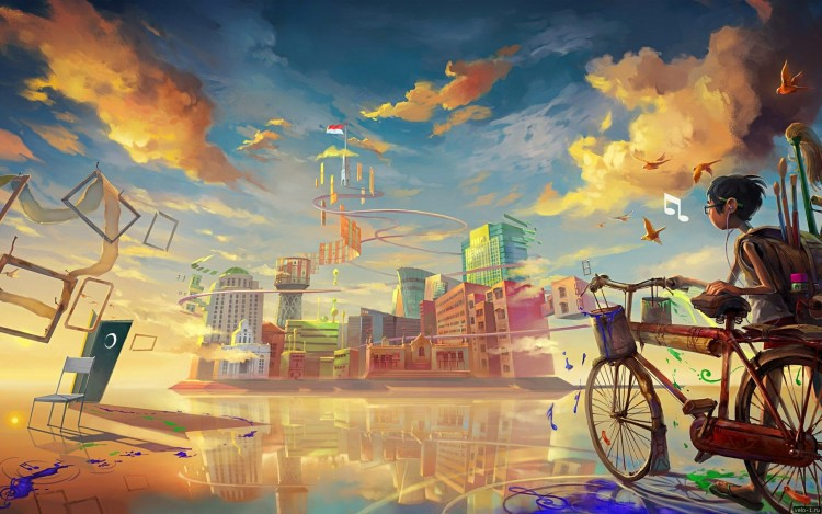 bicycle-art-hd-wallpaper-desktop-background-i0s
