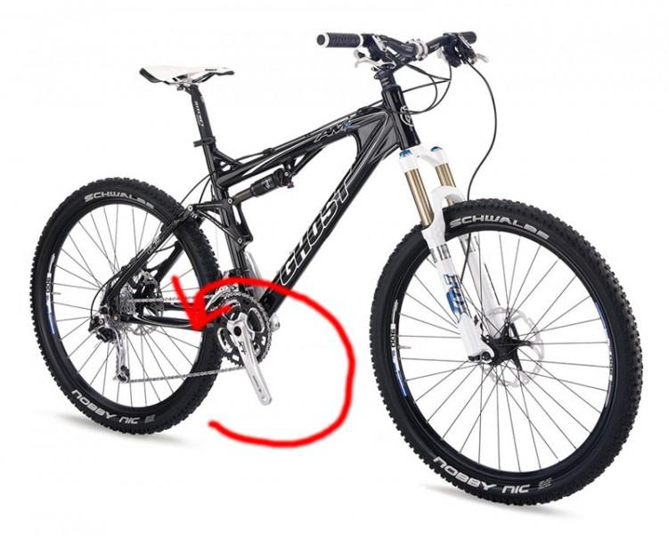 Как снять педали с велосипеда
