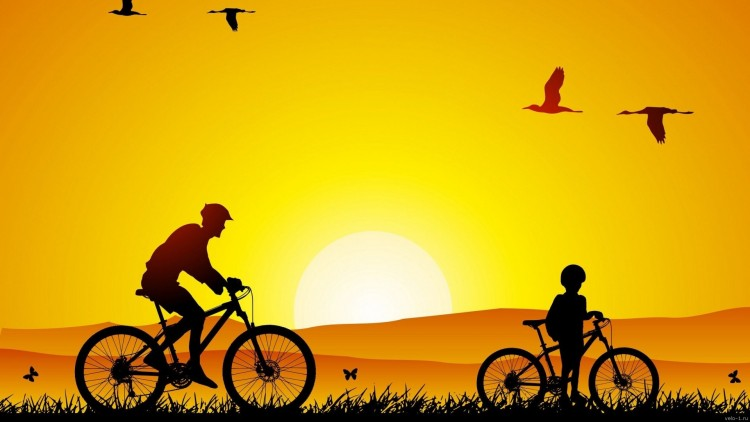 Cycling-Sunrise-Art-1920x1080-1920x1080