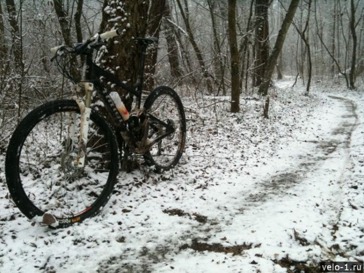 bike-snow