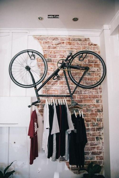 Велоидея хранения велосипеда