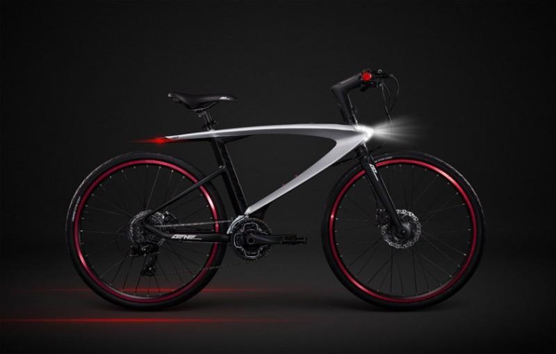 Первый велосипед на Android со встроенным смартфоном и сканером отпечатков пальцев