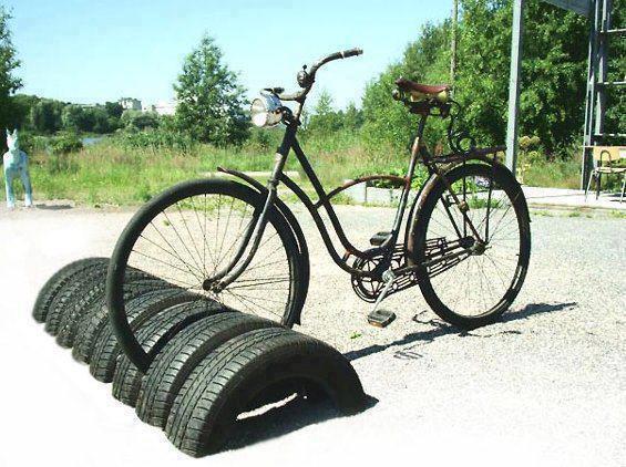Велопарковка без лишних затрат