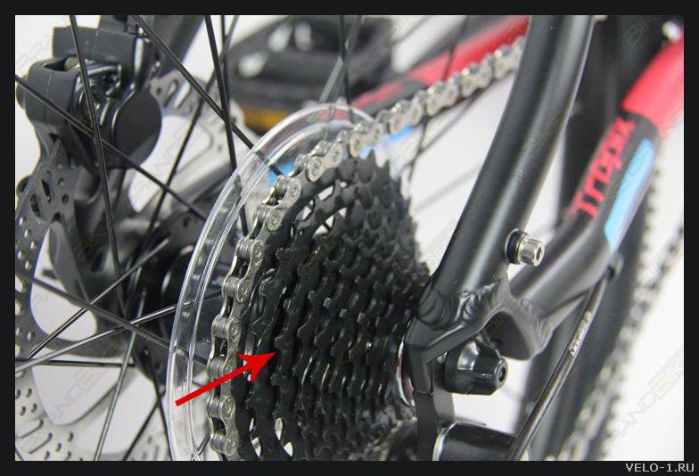 Кассета заднего колеса велосипеда