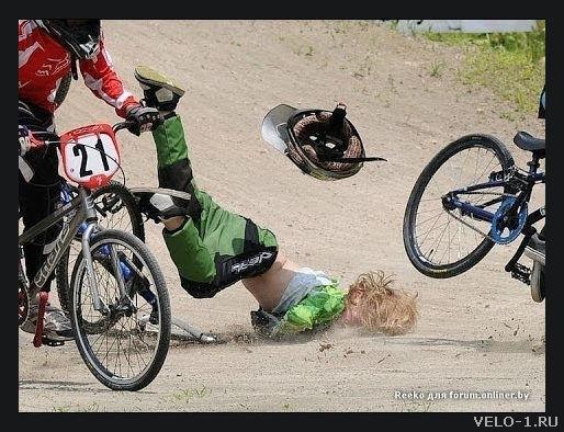 Как правильно падать с велосипеда - краткое руководство