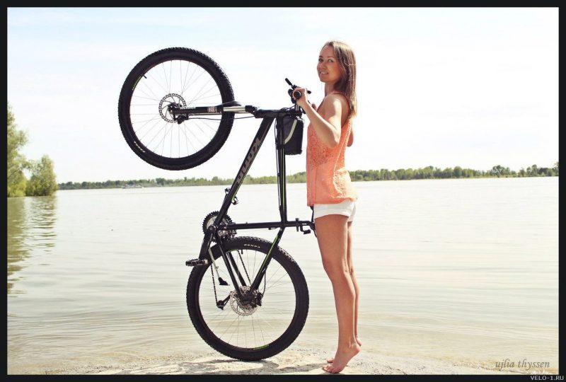 Красивые велодевушки и спортсменки на велосипедах, 50 фото
