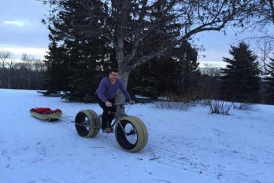 На велосипеде через Антарктиду