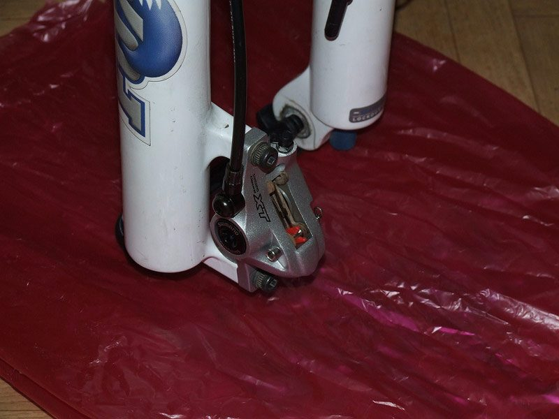 Прокачка гидравлических дисковых тормозов Shimano Deore XT BR-M765