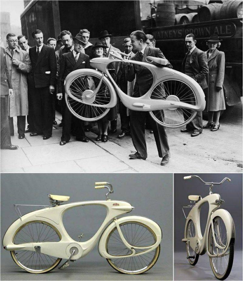 Велосипед будущего! 1946 год